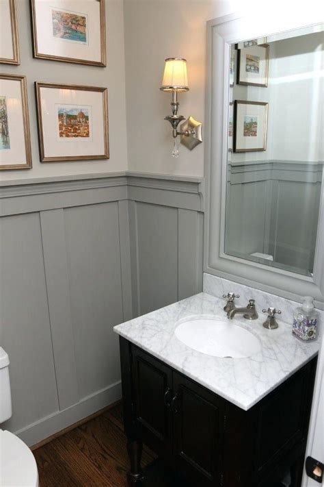Bathroom Paneling Ideas by Half Wall Paneling Best Paneling Ideas Ideas On White Wood