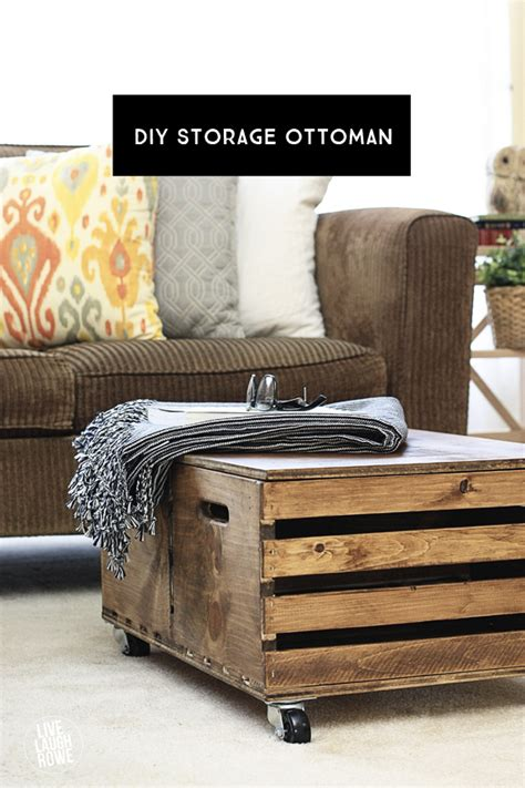 diy ottoman with storage diy storage ottoman live laugh rowe
