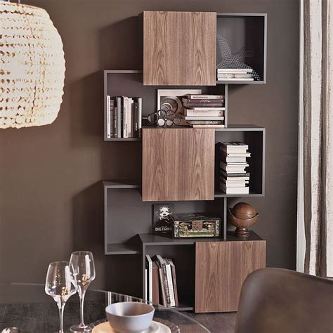 contemporary bookcase with doors 4 awesome bookcase designs for the trendy modern home