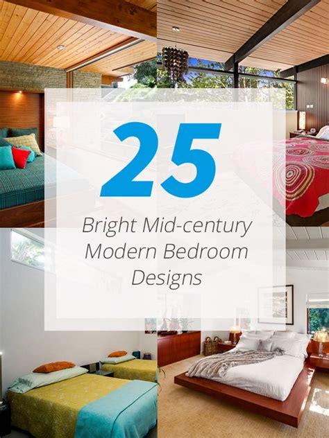 mid century modern bedrooms 25 bright mid century modern bedroom designs home design