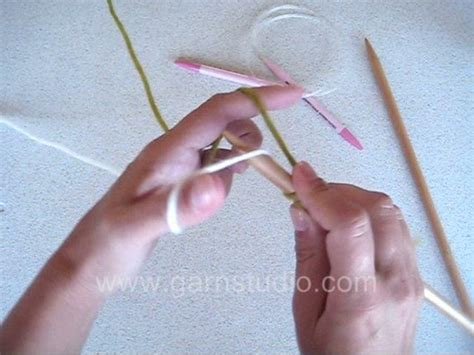 provisional cast on knit drops knitting tutorial how to do the provisional cast on