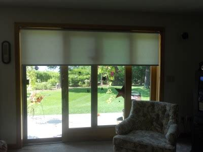 roller shades for patio doors patio door blinds and shades inspiration and ideas nh