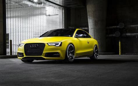 Yellow Car Wallpaper Hd by Audi Rs5 Yellow Car Hd Wallpaper View Wallpapers