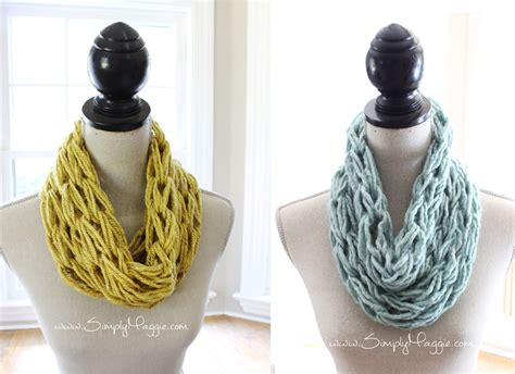 what does wrap 1 in knitting how to arm knit a single wrap infinity scarf in 20 minutes