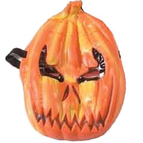 pumpkin rubber st evil pumpkin mask masks dress up masks