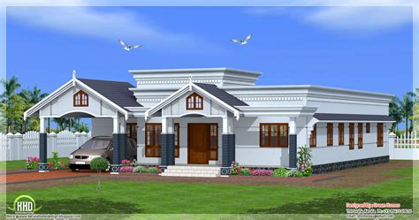 home building plans single floor kerala house plan home design plans building plans 69304