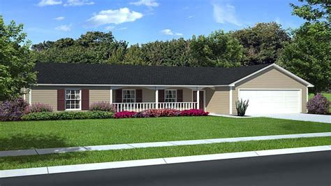 small ranch home plans small house with ranch style porch ranch style house