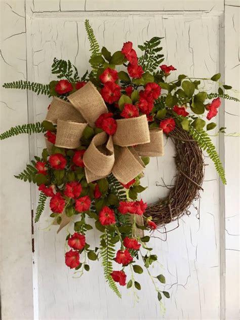 door wreaths 25 best summer door wreaths ideas on diy
