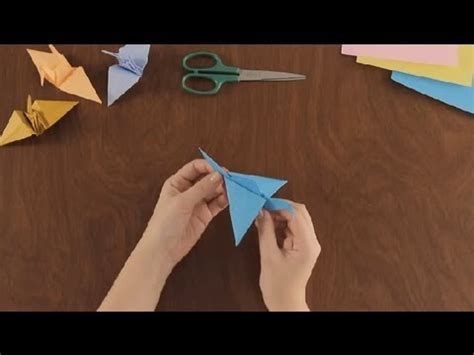 origami flying crane how to make an origami flying crane simple origami