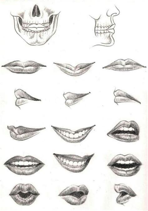 how to draw mouths pin by frans penders on monden tekenen the o