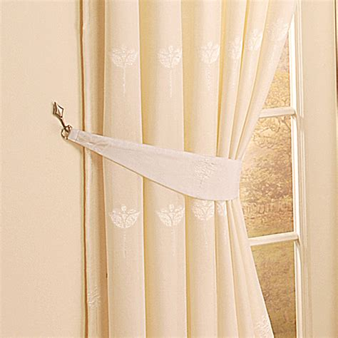 tie back kitchen curtains tiebacks for curtains how to make gold chain curtain