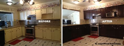 kitchen cabinet refinishing how to refinish kitchen cabinets with limited budget