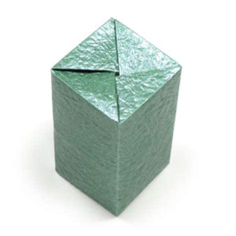 rectangular box origami how to make a closed rectangular origami box ii page 1