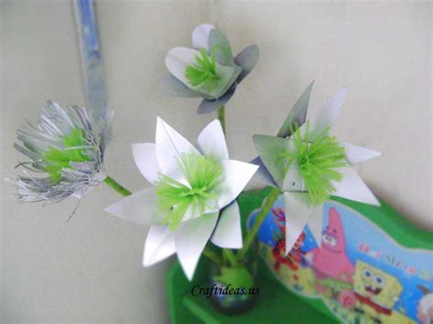 recycled craft ideas for recycling for beautiful flower from milk boxes