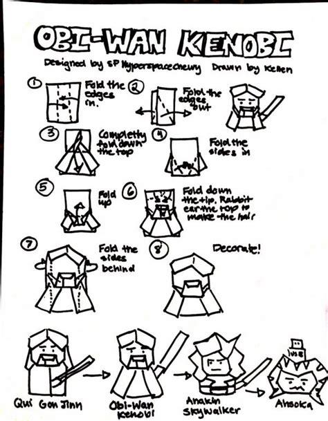 Obi Wan Kenobi Origami Yoda