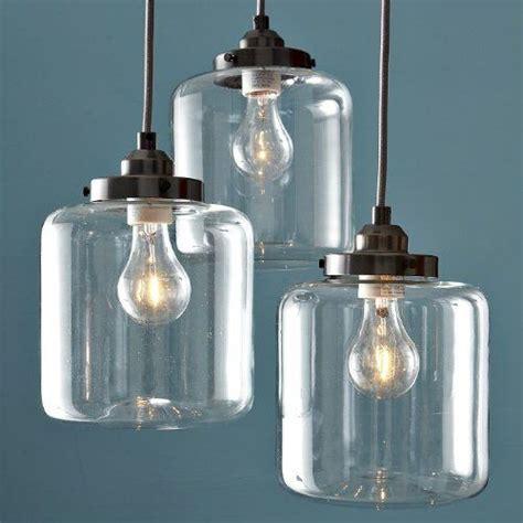 light fixture glass 163 165 unitary vintage clear glass shade jar
