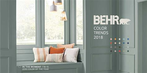 behr paint colors in the moment paint companies announce the 2018 colors of the year