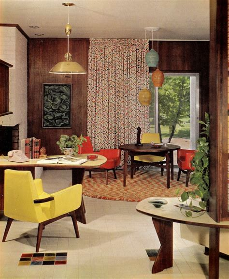 60s decor groovy interiors 1965 and 1974 home d 233 cor