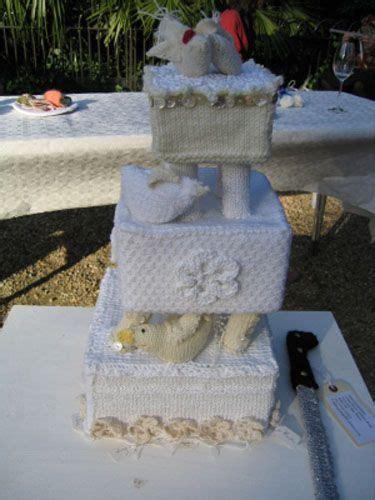 knitted wedding cake knit wedding cake omg knits