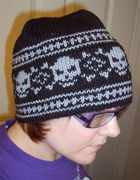 knitted skull hat pattern the 75 best images about aran weight hats to knit on