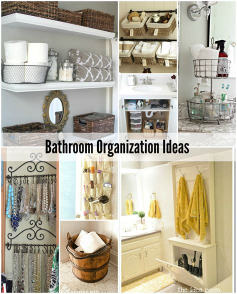 bathroom organizer ideas bathroom organization tips the idea room
