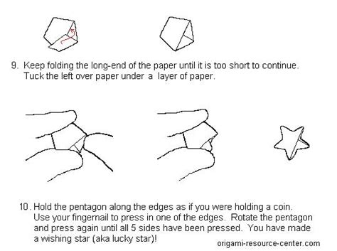 wishing origami easy origami wishing comot