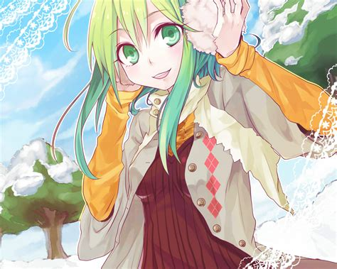 gumi from vocaloid konachan 96178 gumi vocaloid randomness thing