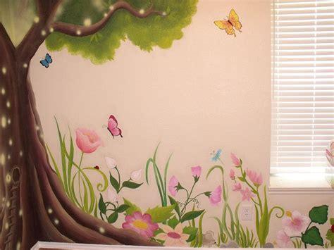 Enchanted Forest Wall Stickers garden mural on pinterest murals mural ideas and wall