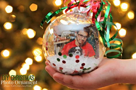 how to your ornament diy photo ornaments are the gift idea