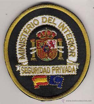 ministerio del interior seguridad privada parche emblema mando conjunto de ciberdefensa posot class