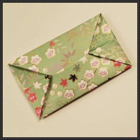 how to fold an origami envelope step by step papercraftsquare free papercraft