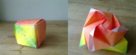 box flower origami origami box flower by machinesway on deviantart