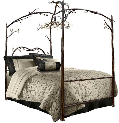 wrought iron canopy bed frame unique bed frames for different approach in bedroom