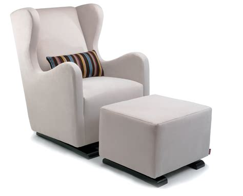 rocking chair with ottoman for nursery nursery rocking chairs with ottoman wingback rocker and