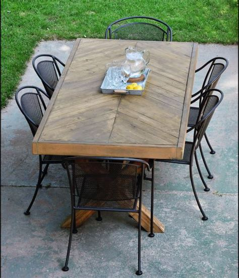 diy patio table plans 12 diy outdoor table you can build easily home and