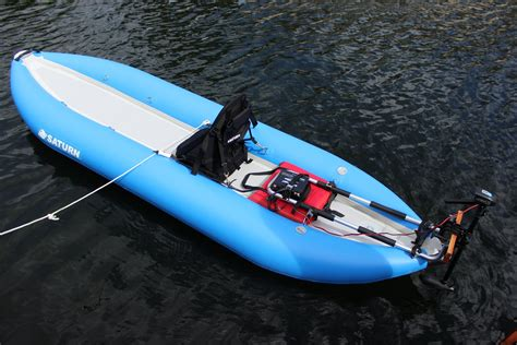 Kayak Electric Motor by Add Electric Trolling Motor To Stand Up Sup Paddle Board