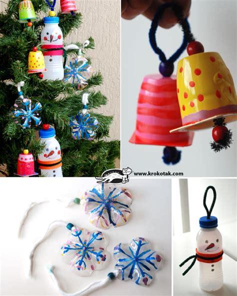 decoracion infantil navidad reciclar botes de pl 225 stico para decorar en navidad