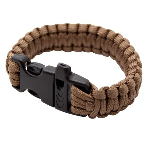 paracord bracelet with thecrossbowstore emergency 7 quot 550lbs paracord bracelet