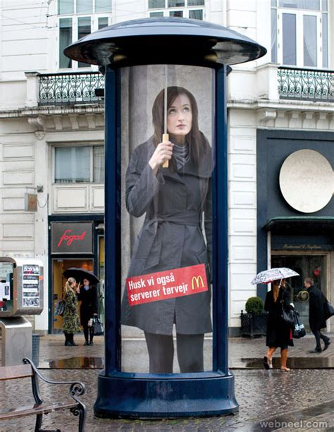 outdoor advertising ideas 40 creative and brilliant advertising ideas for your