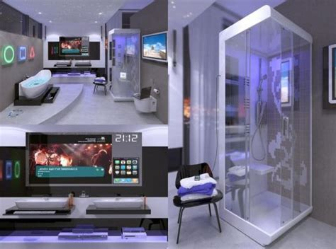 high tech homes hi tech digital bathroom bring your home into the