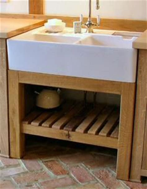 free standing kitchen sink units freestanding oak sink unit media room study and bathroom
