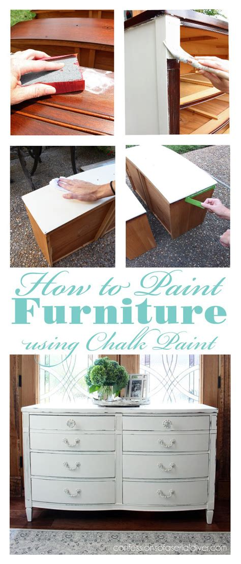 diy chalk paint furniture how to 25 thrifty furniture makeovers confessions of a serial