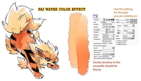 paint tool sai watercolor brush 17 best images about brushes pinceles on