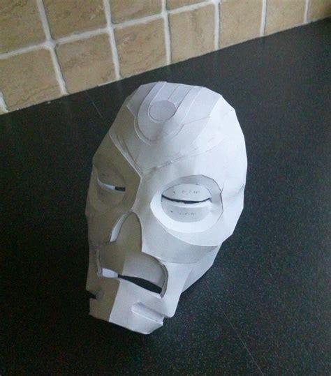 paper craft masks papercraft priest mask by phoenixdestruction on