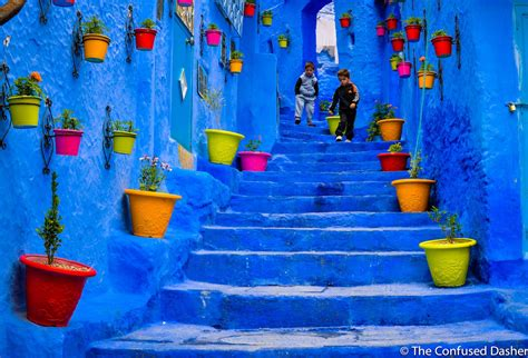 Grey Painted Rooms chefchaouen the confused dasher