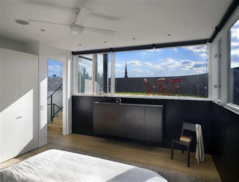 split bedroom design bedroom split level house in philadelphia by qb design