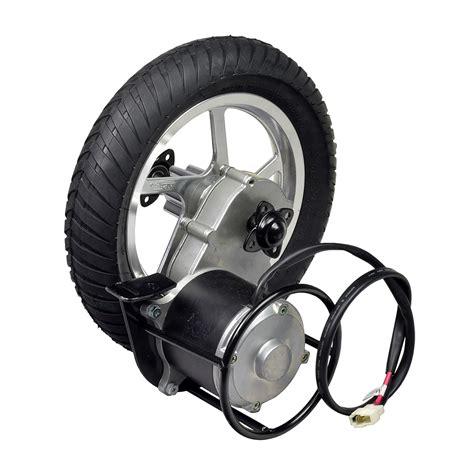 Electric Motor Drive by 24 Volt 450 Watt Direct Drive Electric Motor Rear Wheel