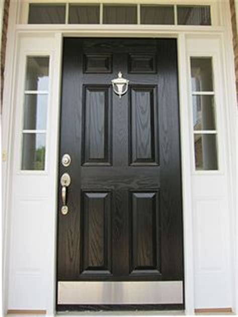 black kick plates for front doors 1000 images about black doors on black doors