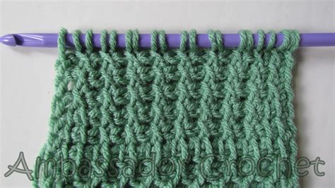 tunisian knit stitch ambassador crochet tunisian archives ambassador crochet