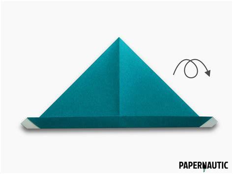 origami hat samurai hat origami design papernautic